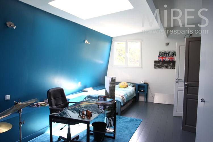 Chambre Bleue Dado C1036 Mires Paris
