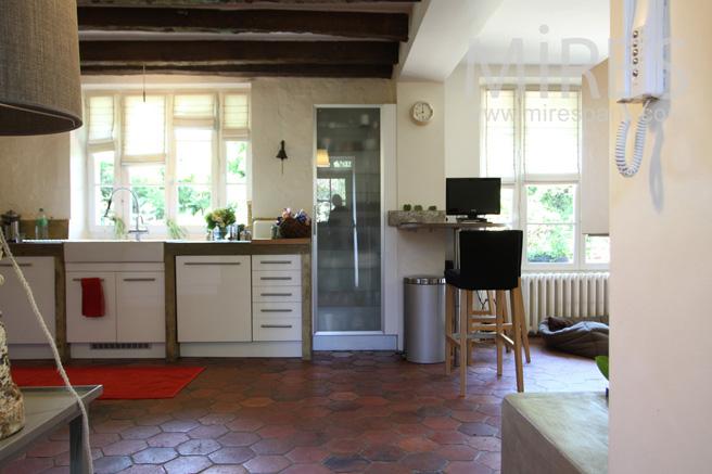Entre Sur La Cuisine Ouverte C1057 Mires Paris