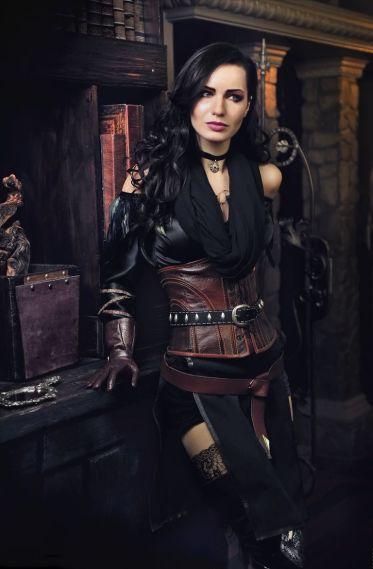 Мария Ханна. Косплей Witcher