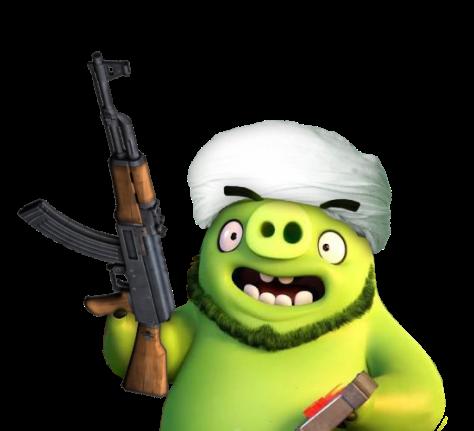 Angry Birds вкино— это мультфильм против толерантности 7