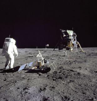 Человек на Луне 7
