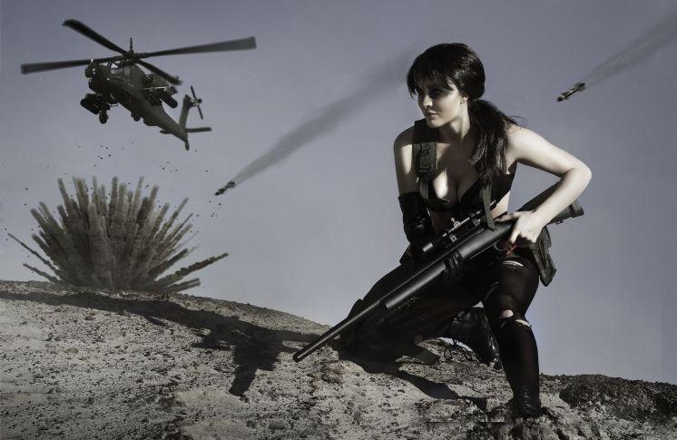 Quiet. Metal Gear Solid V