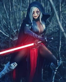 Косплей: Светлая и Тёмная сторона Силы в «Звёздных войнах» 2