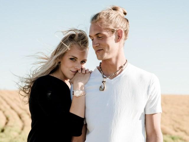 Romantic Alberta Couple