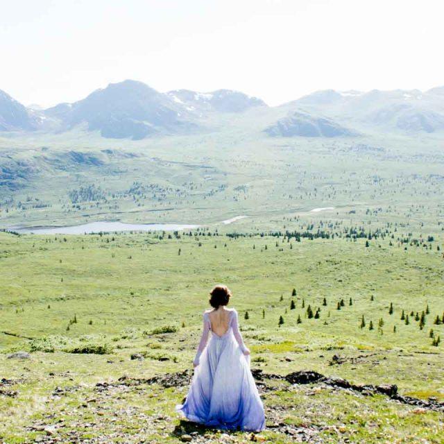 Yukon Mountain Prom Dress