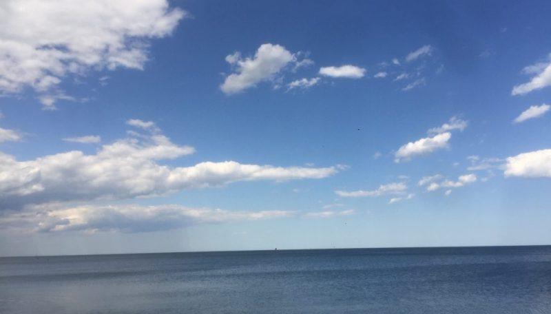 horizontal lake