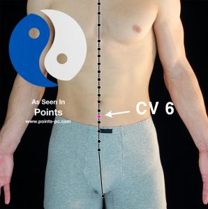 Acupuncture Point CV 6