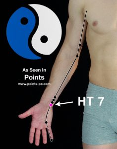 Acupuncture Point HT 7