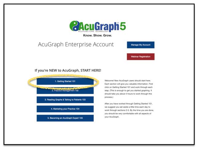 AcuGraph Help