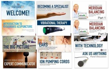 acupuncture technology symposium recordings