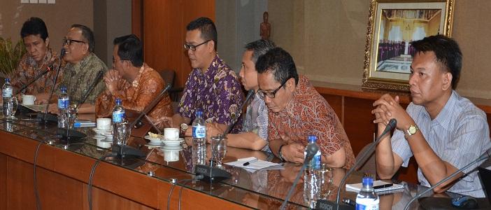 Para Pengurus FKUB Pusat dalam kunjungan ke KWI (Foto Kmsos KWI)