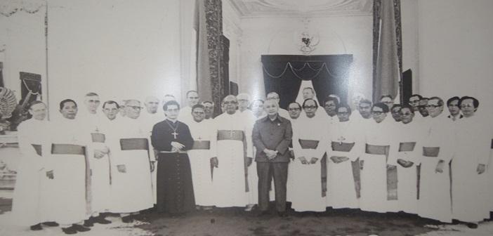 Kunjungan para Waligereja ke Istana Presiden Soeharto, 1980