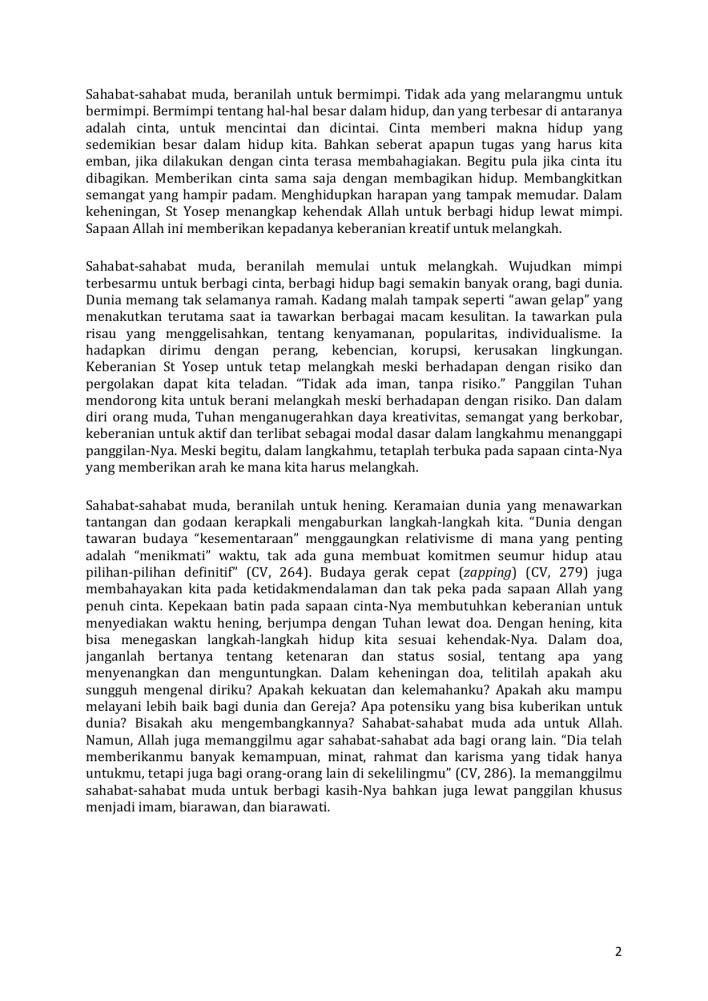 25 April 2021, Paus Fransiskus, Pope Francis, Gereja Katolik Indonesia, Orang Muda Katolik, Minggu Panggilan, Komisi Kepemudaan KWI, Uskup Ketapang,  Uskup Indonesia, In Jesus We Trust, Katekese, Katolik, Komsos KWI, Komkep KWI, Konferensi Waligereja Indonesia, KWI, Lawan Covid-19, Lent,  Renungan Katolik Mingguan, Sabda Tuhan, Umat Katolik, Yesus Kristus