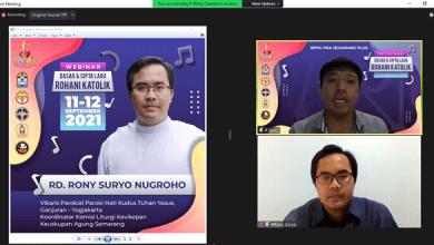 katekese, katolik, Kitab Suci, Komsos KWI, Konferensi Waligereja Indonesia, KWI, Lawan Covid-19