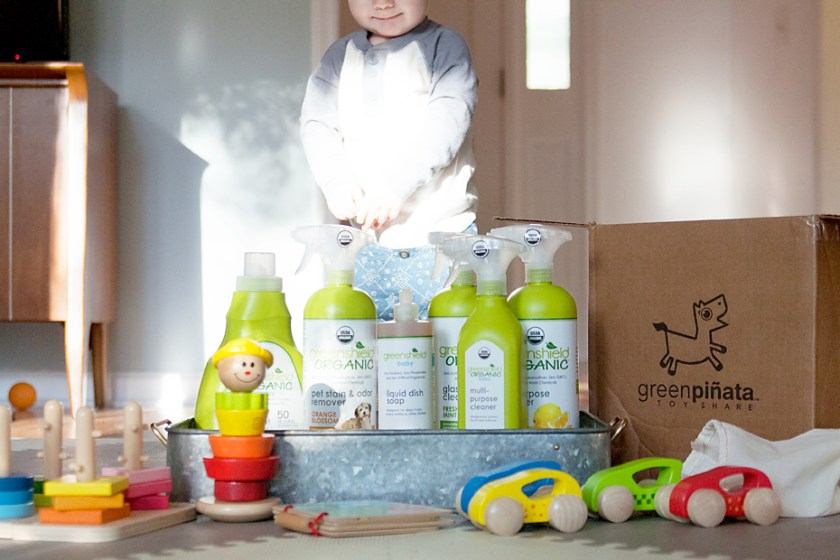 Healthy Holiday GIVEAWAY with Greenshield Organic & Green Piñata Toys