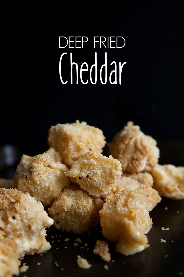 Deep Fried Cheddar Cheese