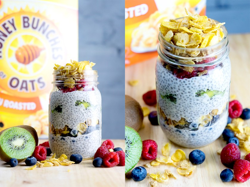 Get Up & Go Chia Pudding