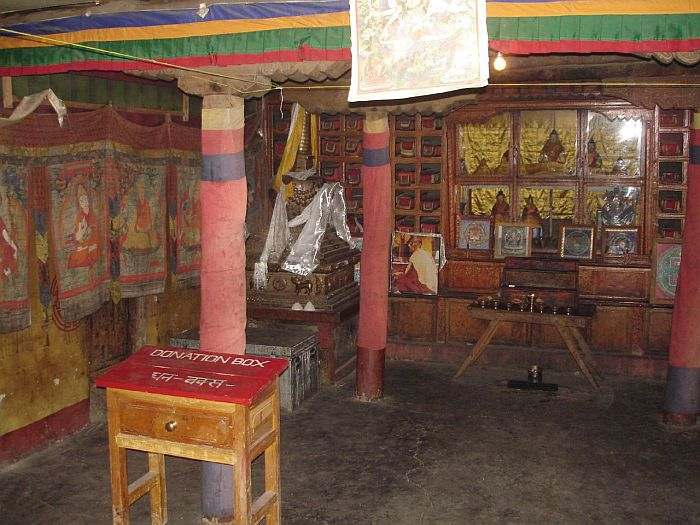 Буддийский храм Ки Гомпа (Key Gompa), Индия