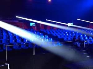 Backlight de LED para eventos