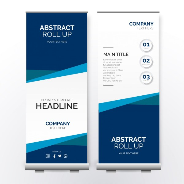 Roll up Banner , rollup, banner rollup