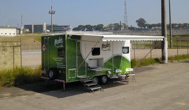 unidade móvel , Truck de Impressão Digital , impressão digital