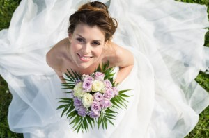 Portrait Of Beautiful Bride