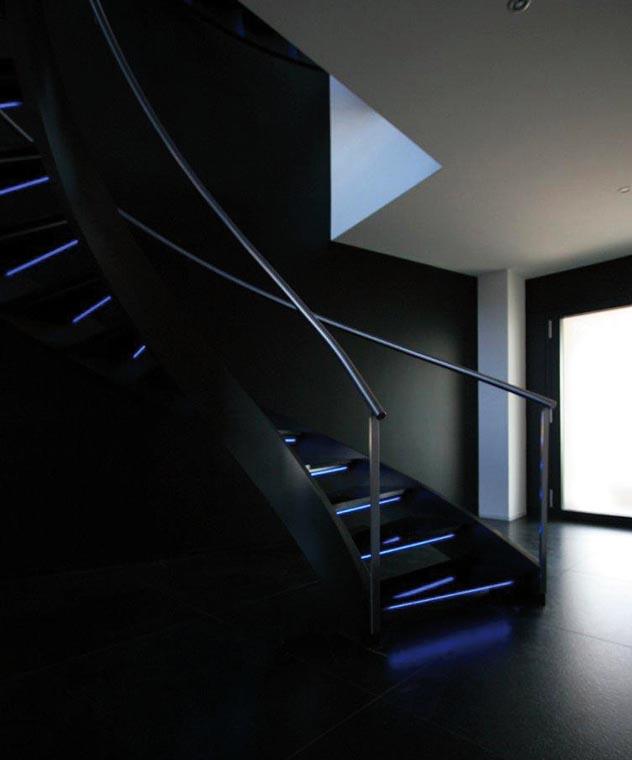 marches d escalier sur mesure en verre