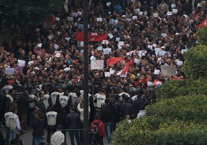 Tunisian Revolution (via Flickr Creative Commons)