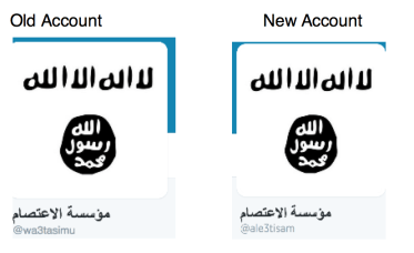 ISIS_Old_account-New_account