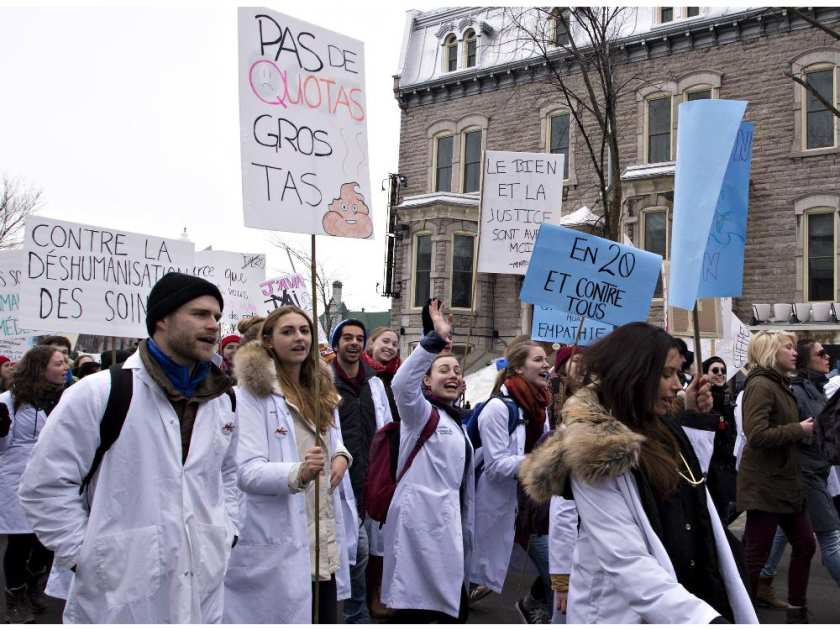 Quebec's Bill 20: A Political and Medical Conflict