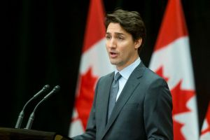 Prime Minister Justin Trudeau speaks out against the practice of ransom payments