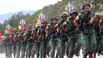 Venezuela's Bolivarian Armed Forces conducting military exercises (2016). Credits: Ultimas Noticias