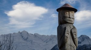 Salish totem pole commissioned by the Squamish-Lillooet Cultural Centrehttps://flic.kr/p/tYPbro