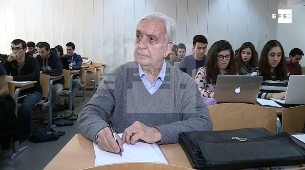 Studentska razmjena za umirovljenike: Osamdesetogodišnjak dobio Erasmus stipendiju za studij u inozemstvu