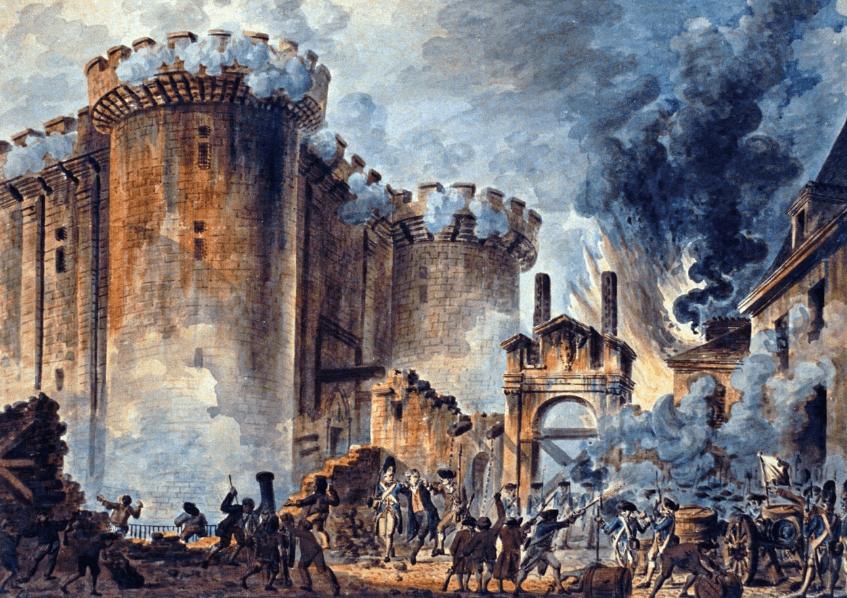 [14.7.] Francuski revolucionari napali zatvor Bastilju: Početak moderne demokracije bio je krvav