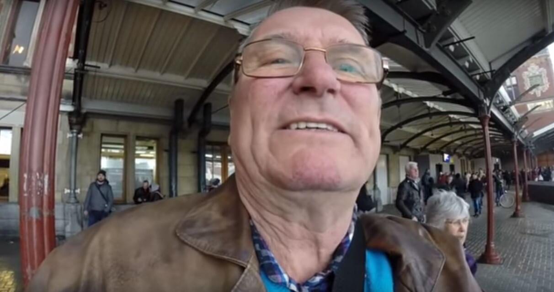 [VIDEO] Stariji gospodin krivo je držao kameru cijelo putovanje pa umjesto krajolika snimao sebe