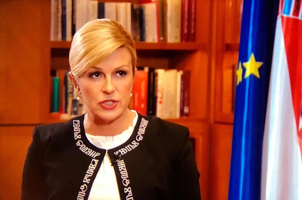 Grabar Kitarović: Mirovinska reforma je nužna, ali ovisi o demografskim trendovima