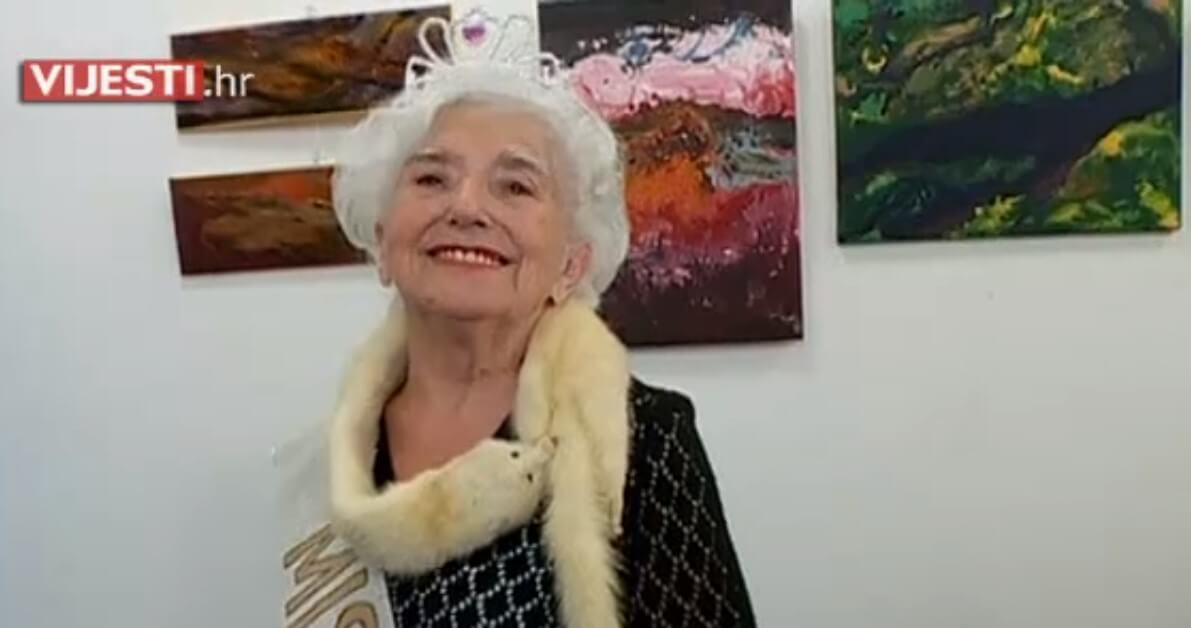 Najstarija Miss: Najljepša Hrvatica iznad 80 godina je 91-godišnja Zdenka