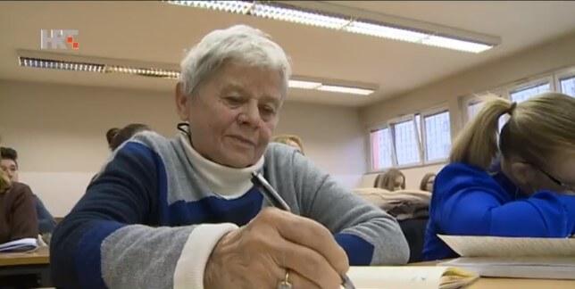 Baka studentica: Ima 75 godina, a od treće diplome dijeli ju samo jedan semestar