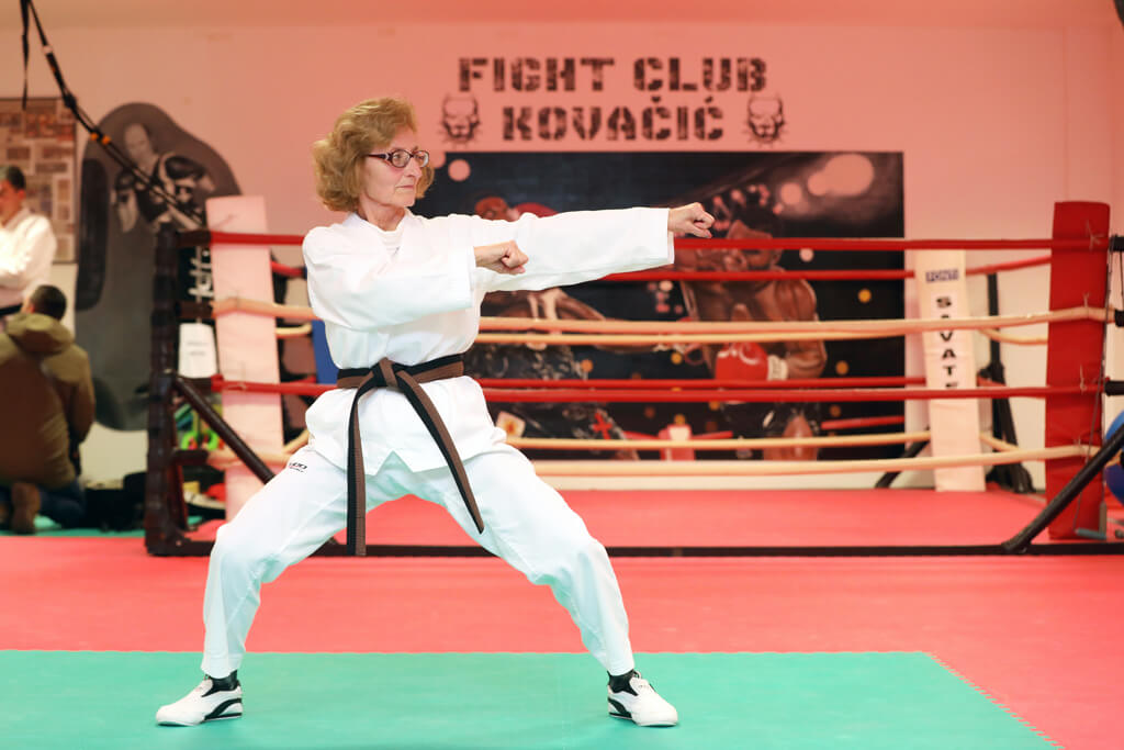 """Varaždinka Inga ima 73 godine i trenira karate: """"Kupite patike i izaberite aktivnost"""""""