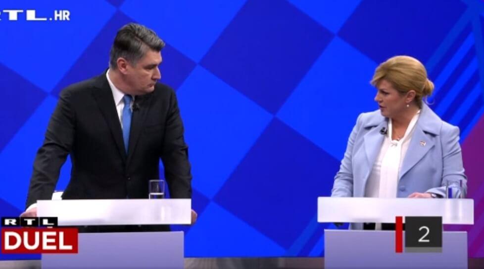 [KOMENTAR] Na što Milanović i Kolinda moraju paziti na večerašnjem sučeljavanju?