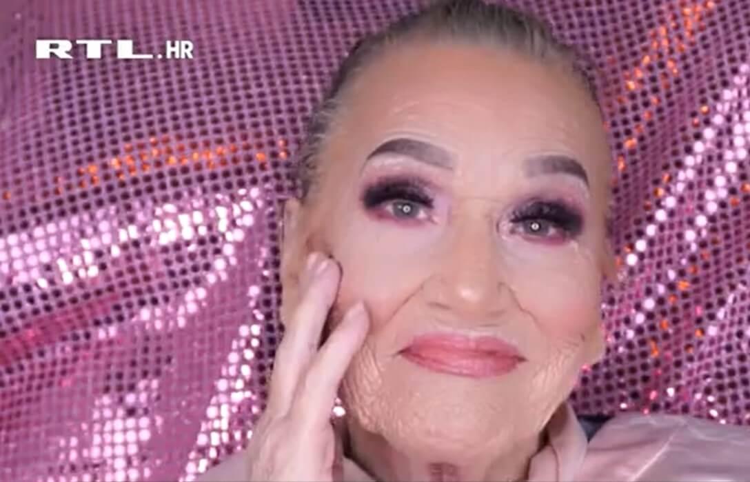 Splitska baka Livija (83) šminkom pokorila modni svijet i pokrenula biznis