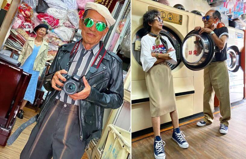 Umirovljenički par postao hit na internetu: Poziraju u izgubljenoj odjeći iz svoje praonice