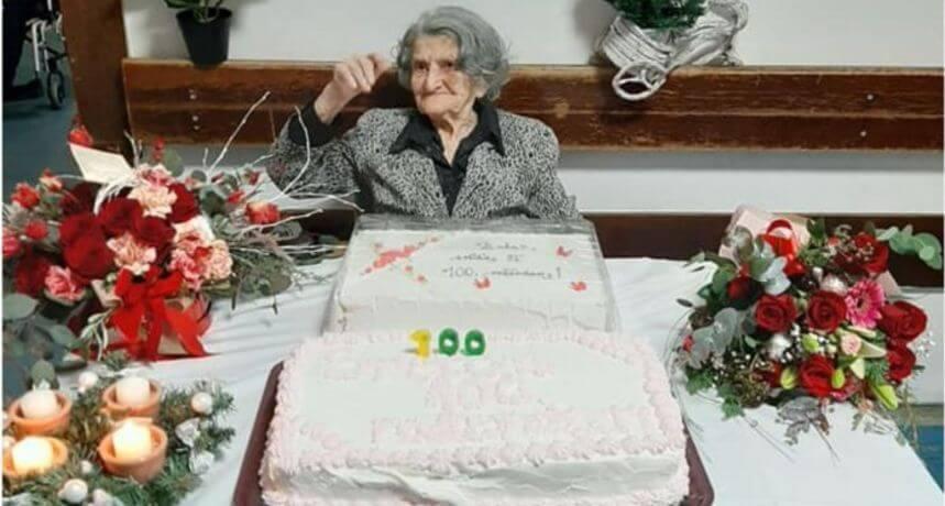 """Zagorka Ana proslavila stoti: """"Najviše volim Čokolino, a želja mi je voziti se autobusom"""""""