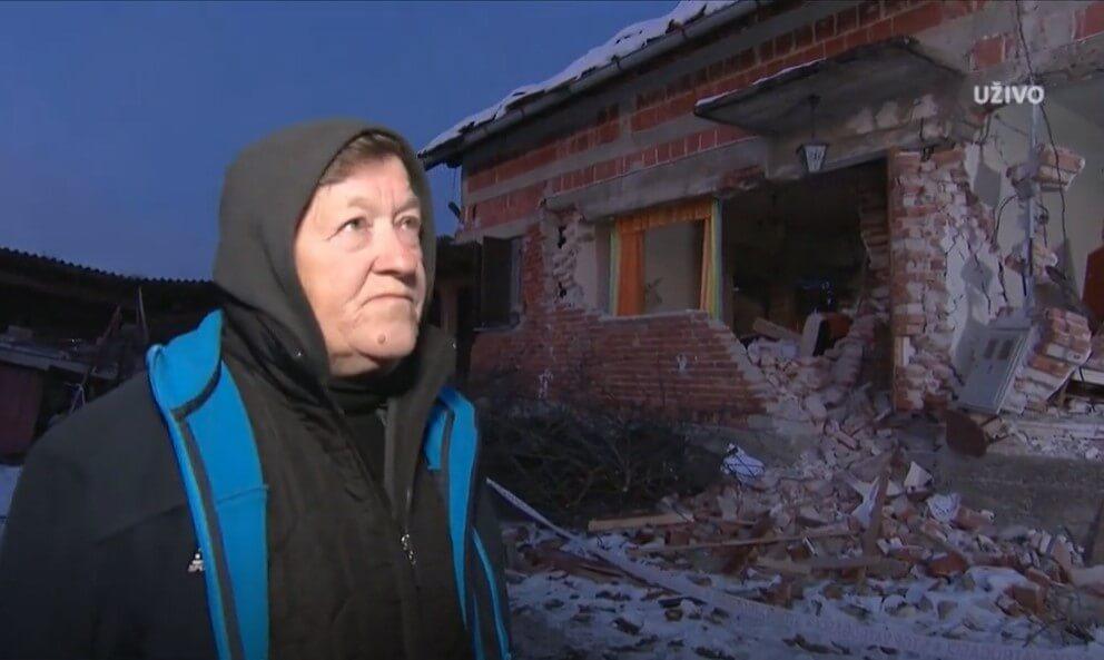 """Baka Đurđica živi u kontejneru bez vode uz srušenu kuću: """"Ne želim otići"""""""