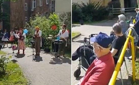 [VIDEO] Vesela glazbena družina umirovljenicima razbila monotoniju