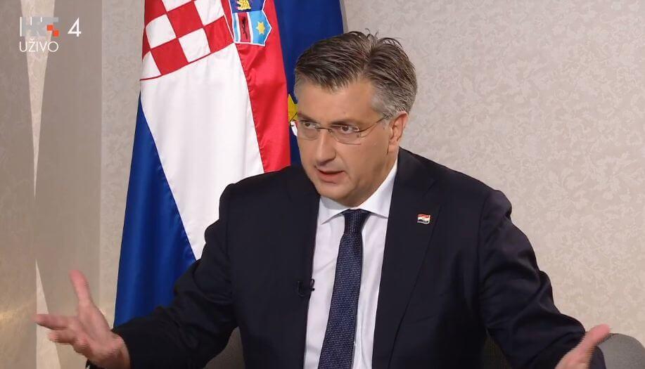 """Plenković: """"Da se u jednom danu cijepi 1,3 milijuna Hrvata, riješili bismo problem"""""""