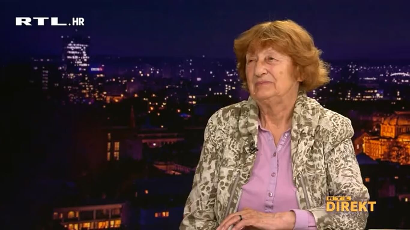 """Prva cijepljena baka Branka (82): """"Tako što smo se mi cijepili cijepimo malo i one koji to ne mogu"""""""