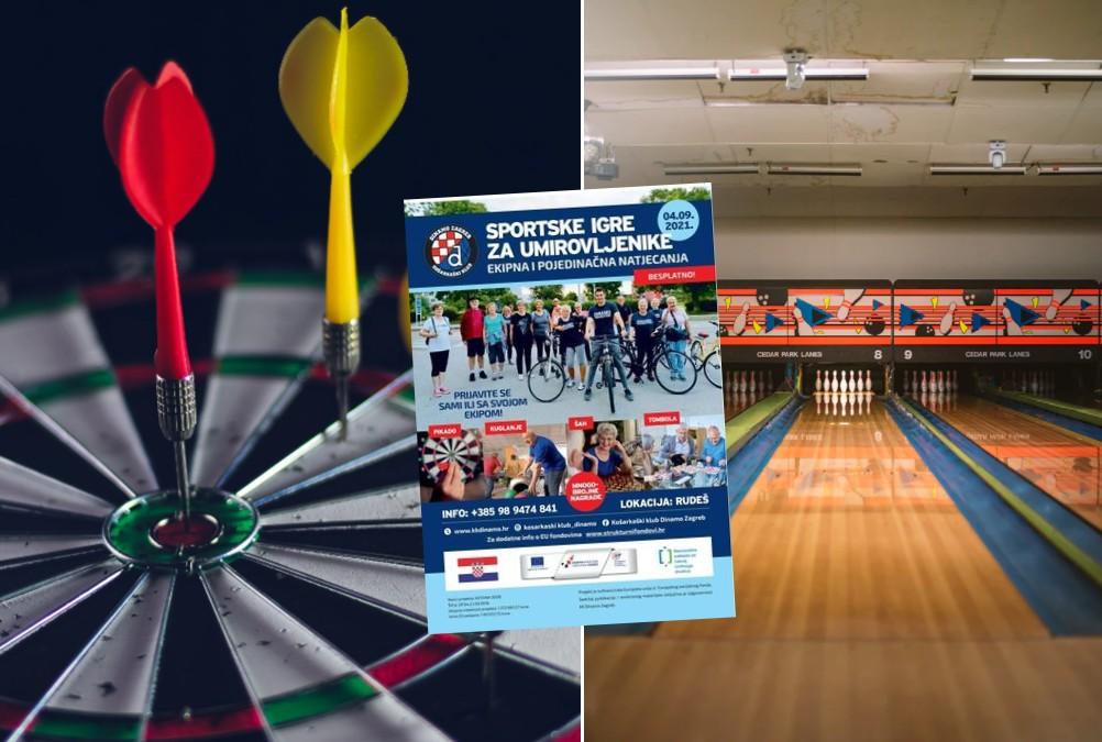 KK Dinamo organizira Sportske igre za umirovljenike: Garantiraju hranu, piće i dobru zabavu!