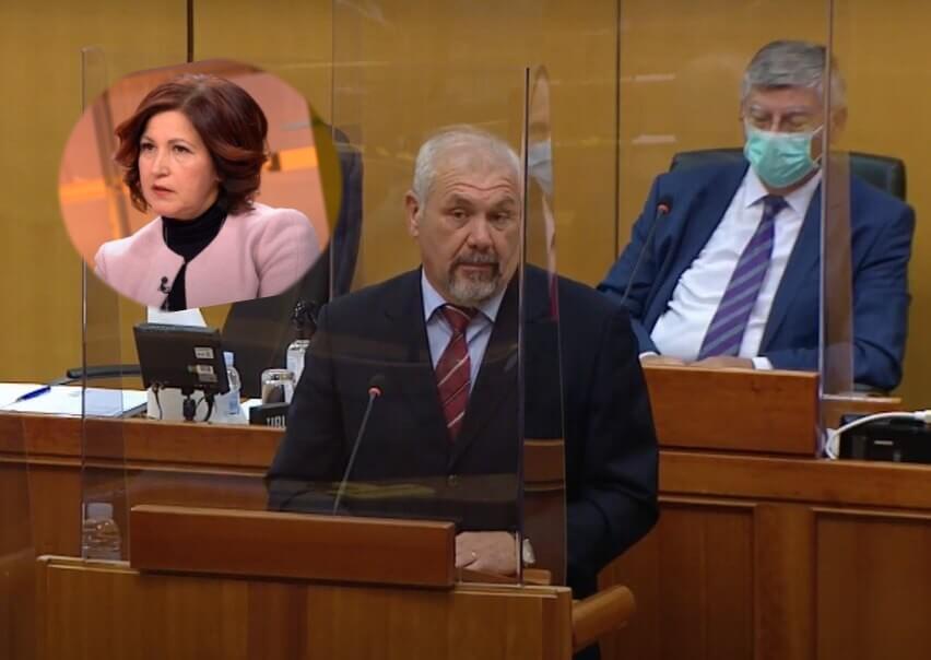 """Hrelja 'bocnuo' državnu tajnicu zbog nesmotrene izjave o domovima: """"Bubnula i ostala živa"""""""